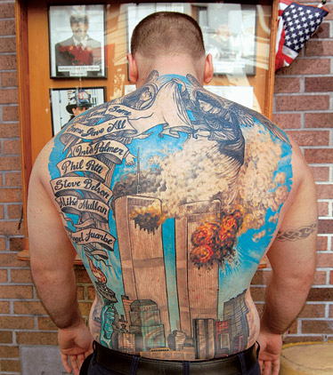 Tattoo of the Twin Towers