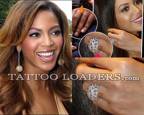 Beyonce Knowles Tattoo