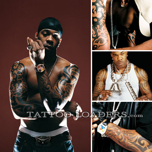 Busta Rhymes Tattoos