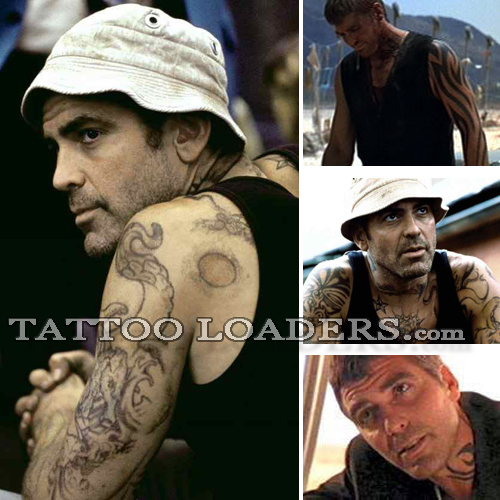 The george clooney tattoo from the movie Dusk Till Dawn has been replicated