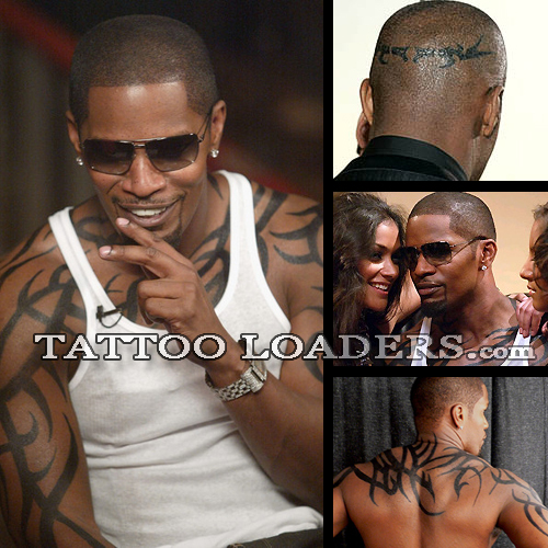 Jamie Foxx Tattoos