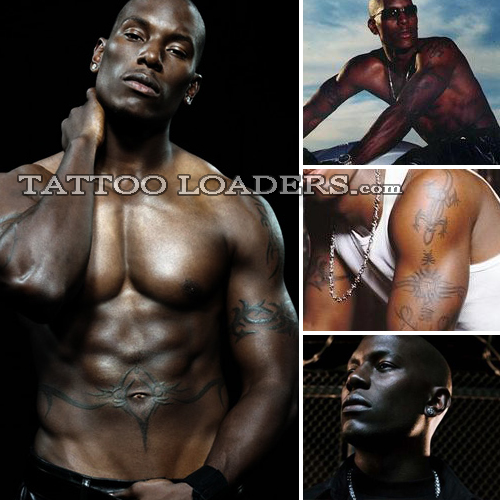 Tattoos On Tyrese The Singer