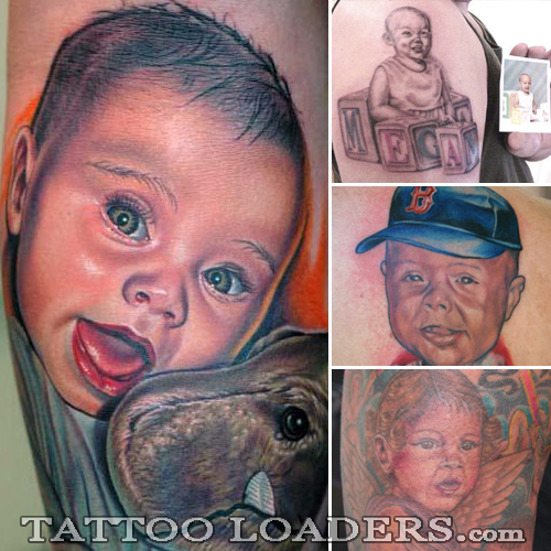 Designs of Baby Tattoos