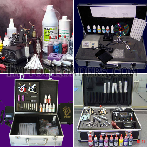 A body art airbrush tattoo kit is worth a lot of money if you have the
