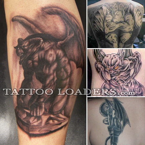 Tattoo Designs Gargoyles