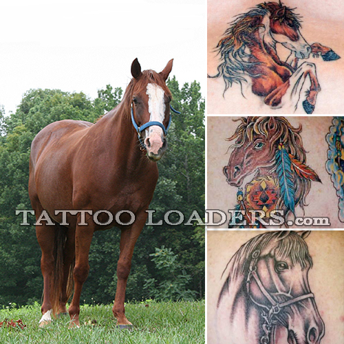 I don't recommend letting your kids get horse tattoos or any other type of