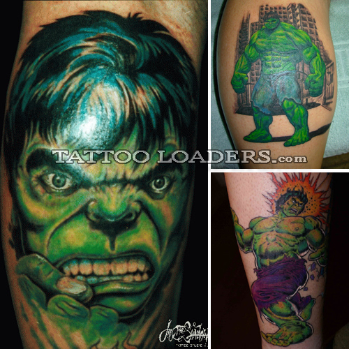 Incredible Hulk Tattoos | Tattoo Loaders: Tattoo Designs, Tribal