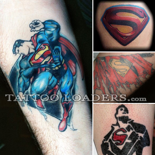 Tattoos of Superman