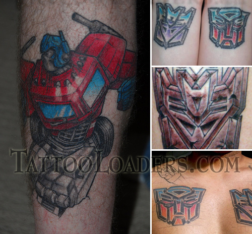 Tattoos of Transformers