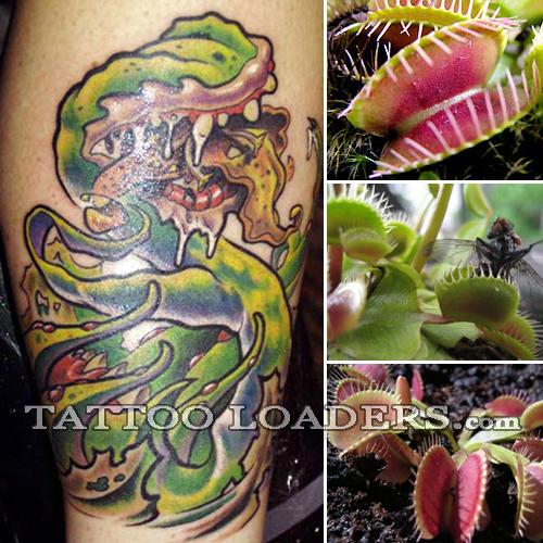 Tattoo of Venus Fly Trap