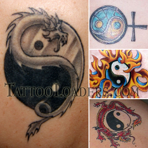 This is why along with Japanese letters the armband tattoo yin yang is inked