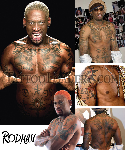 are you the tattoo mad? just like this NBA Basketball player