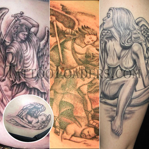 Celtic Guardian Tattoo Guardian Angel Tattoos