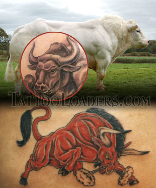 I had to bring out the raging bull tattoos because they are so muscular and