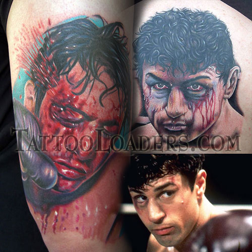 Raging Bull Movie Tattoos