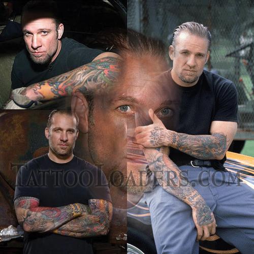 Tattoos on Jesse James