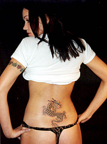 Lower Back Dragon Tattoo. It's one thing to hear about it but another to