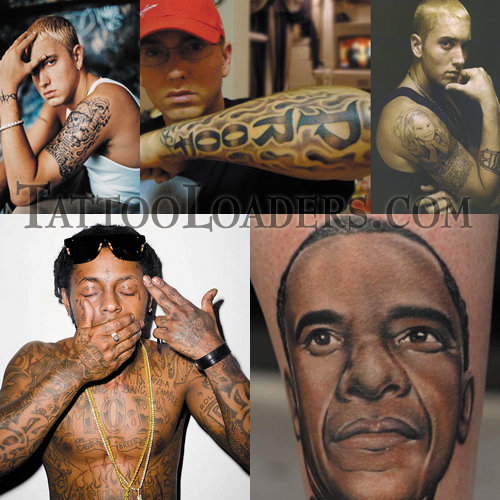 rapper tattoo. Pics of ghetto tattoos