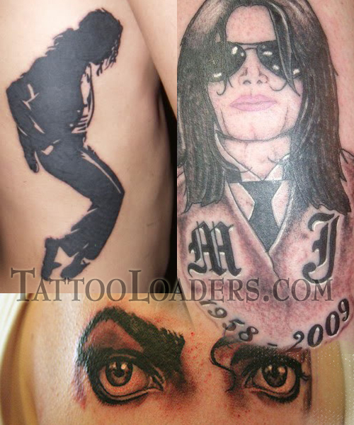 Rest In Peace Michael Jackson Tattoos Designs